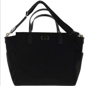 Kate Spade ♠️ diaper bag black